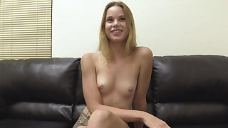 Ridiculously Adorable 19 Year Old Blonde Candace Butt Fucked
