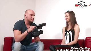 REAL GERMAN TEEN Fresh AT CASTING – SHE ONLY WANTS ANAL