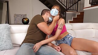 Throated babe wants sperm to cure her desires