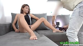 Proximate Teen Thai Asian Chick most-liked up by Drenching