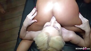 Pussy Bukkake Go for GB01 Party with Curvy Girl Bella X