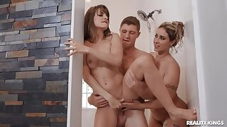Kimmy Granger finds her BAE with his Stepmom!